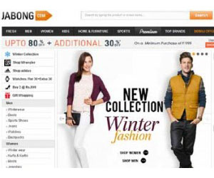 Jabong.com is an Indian lifestyle and fashion ecommerce portal.