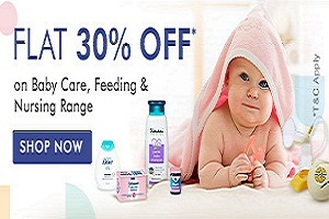 Flat 30% Off for Childs